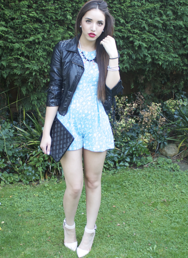 Playsuit Styled: A Day & Night Look