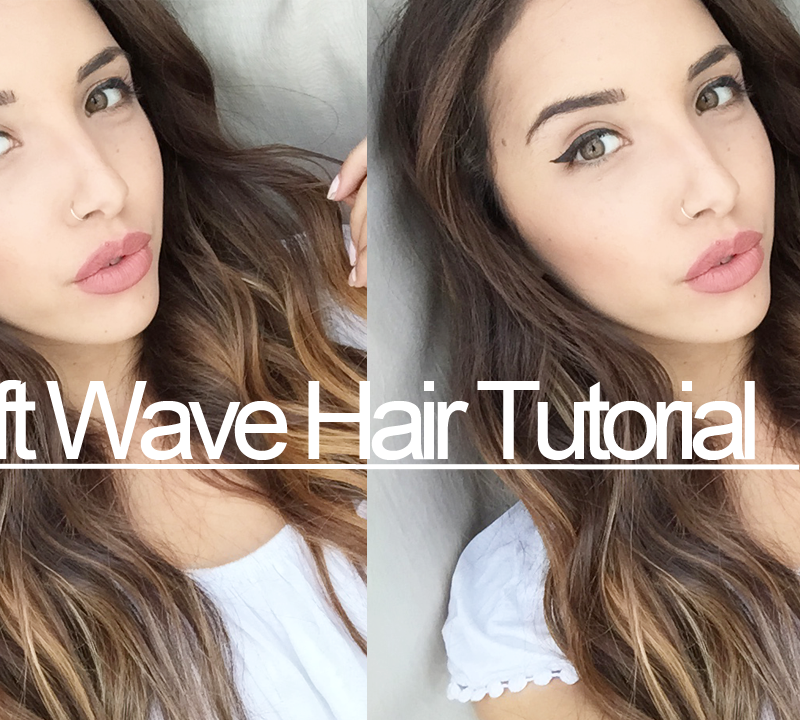 New Video – Soft Wave Hair Tutorial