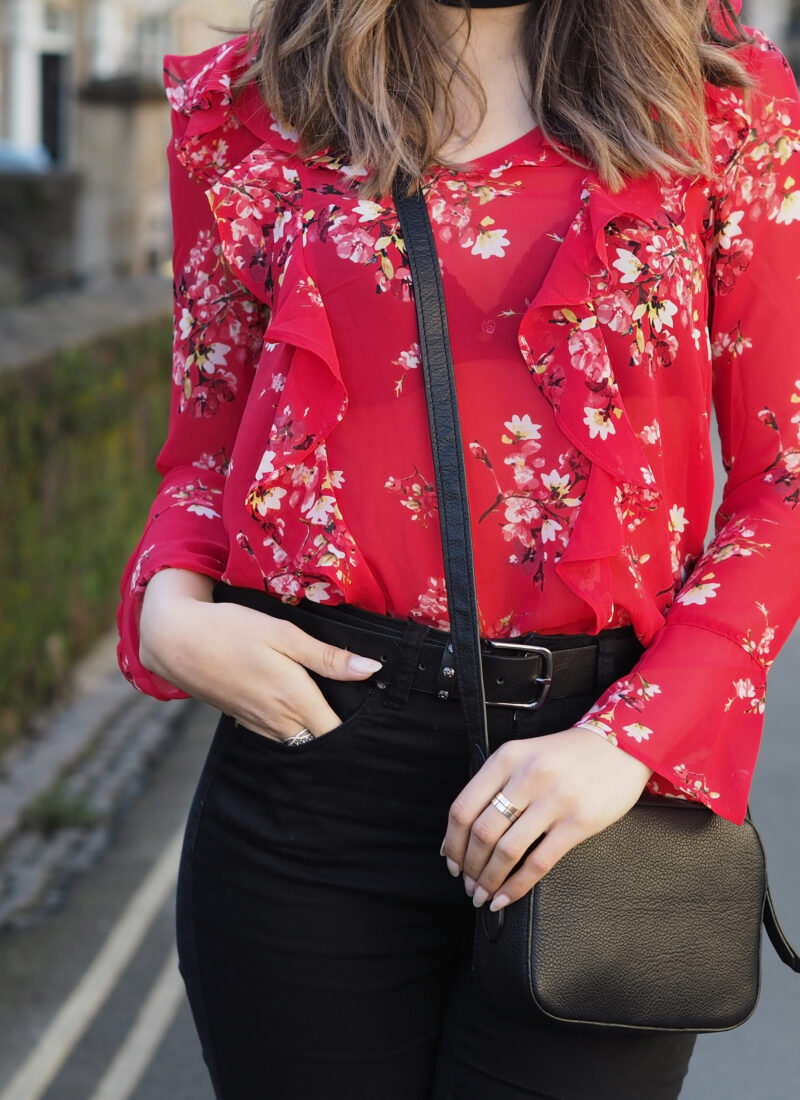 The one floral blouse you DEFINITELY need