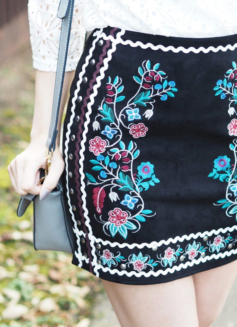 Let's talk about embroidered statement pieces