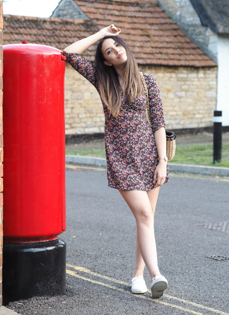 Making the most of the floral dress