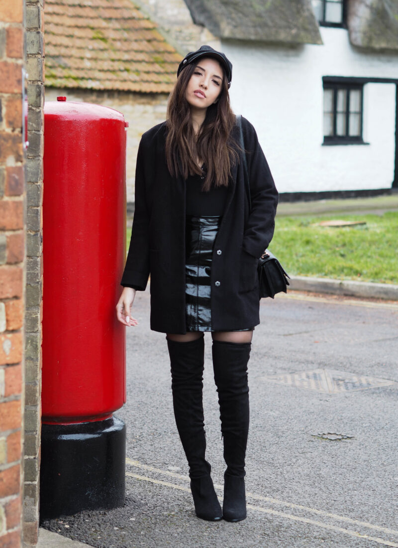 Ways To Wear: Skirts & Over The Knee Boots