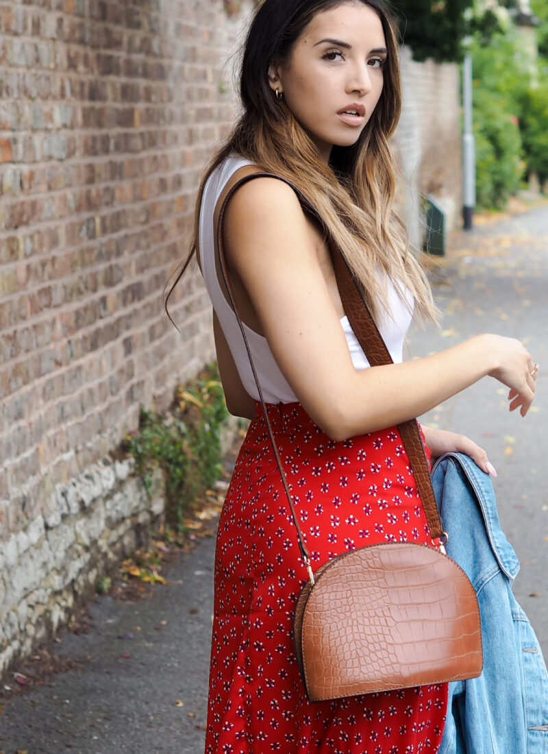 Style Snippet: Red Florals
